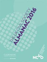 The UK Civil Society Almanac 2016