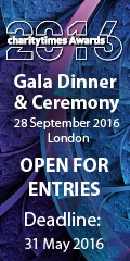 Charity Times Awards 2016